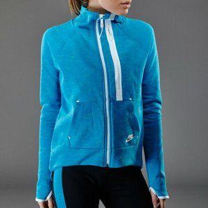 Nike Tech Fleece Moto Cape Full Zip Pockets Jacket